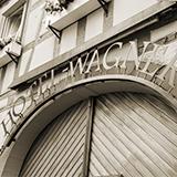 Torbogen Hotel Wagner Bad Wimpfen