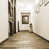 Eingangsbereich Hotel Wagner Bad Wimpfen